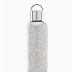 KATE SPADE LENOX silver glitter tumbler. NWT
